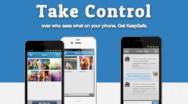 Hide Photos on iPhone with KeepSafe - a Private photo vault