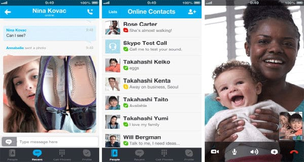 Video chat app iphone