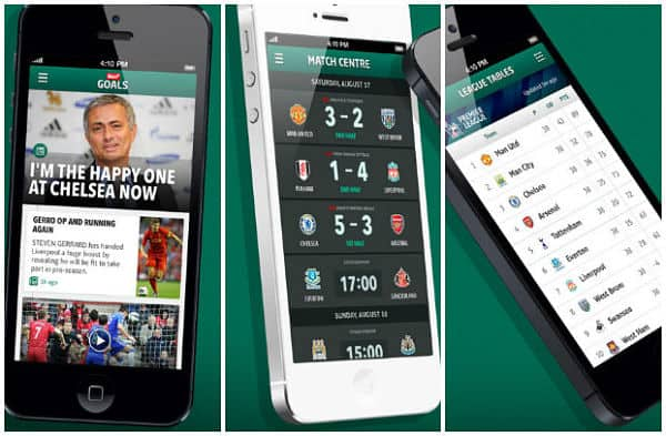 Sun+ Goals iPhone app