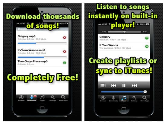 Free Music Download for iPad