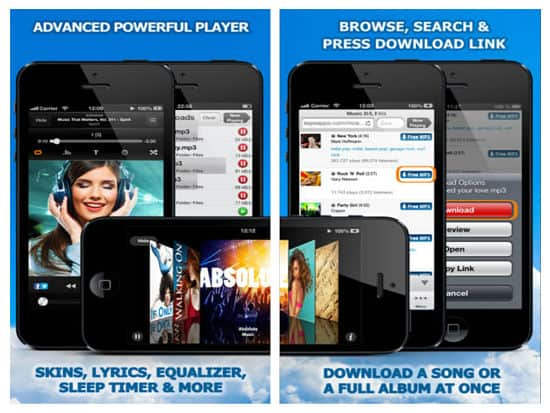 Free Music Download- iPhone Mp3 Downloader app