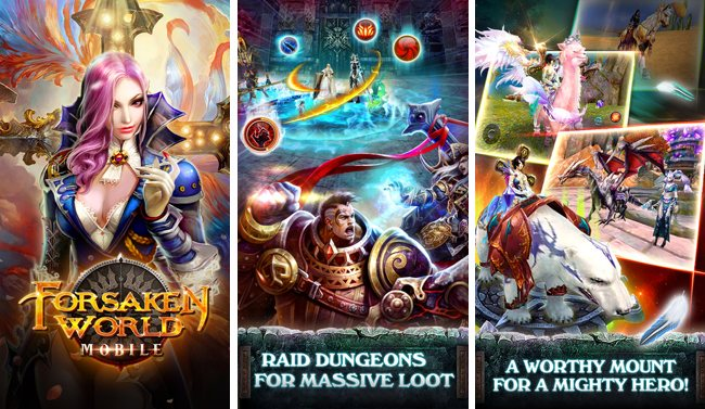 Forsaken World MMORPG - best free iphone games