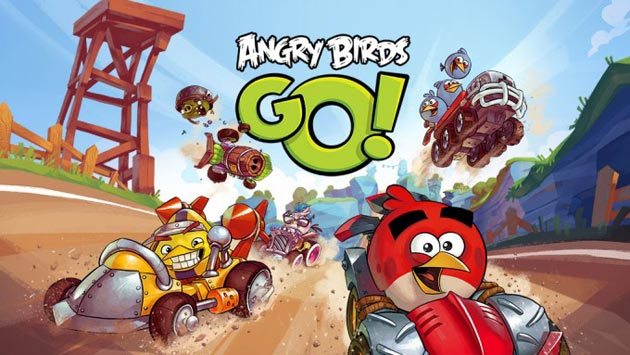 Angry Birds Go iPhone game