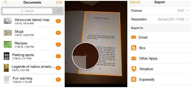Genius Scan - PDF Scanner for iPad