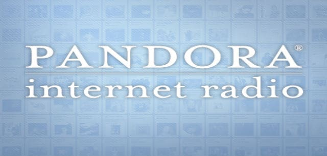 Pandora Internet Radio Service for iphone