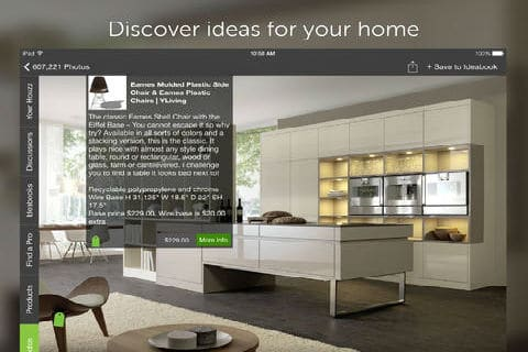 Dream home una app de decoraci n en ios video decoraci n for App decoracion interiores