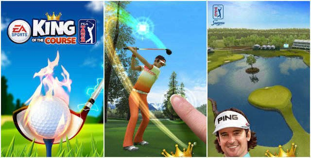 PGA Tours: King of the Course for iPhone iPad