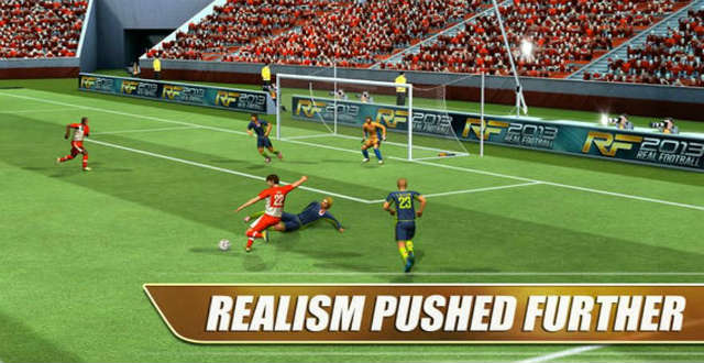 Real Football 2013 for iOS