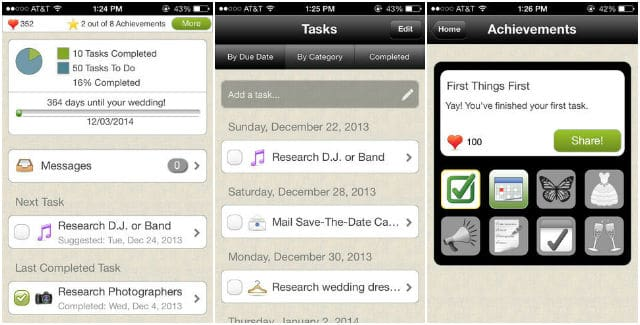 WeddingHappy - Wedding Planner for iPhone, iPad