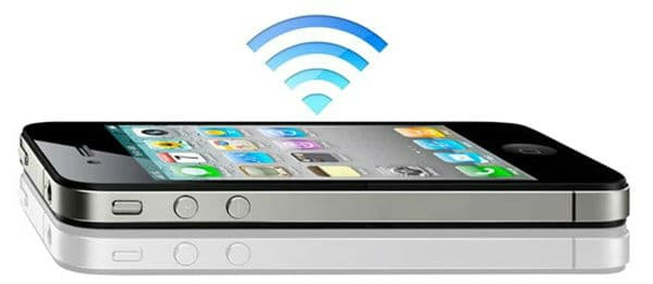 How to share the internet connection from an iPhone