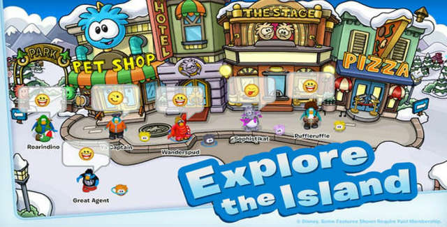 Club Penguin for iPhone iPad
