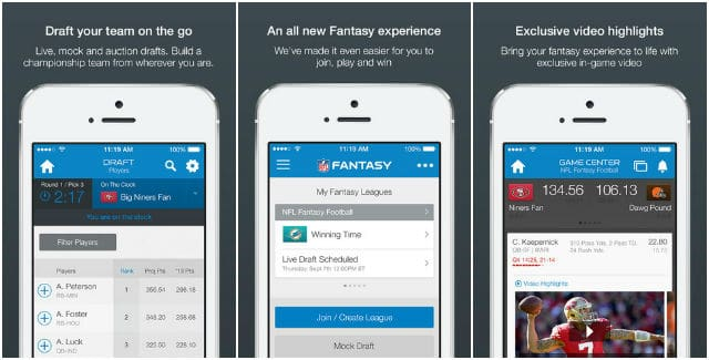NFL Fantasy Football Official App