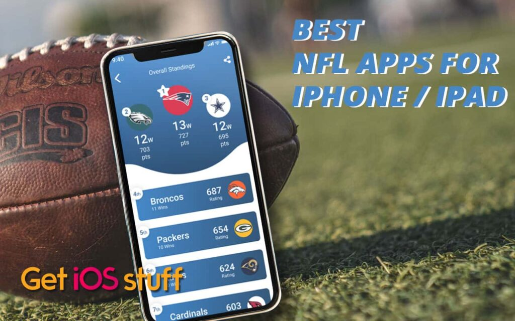 Best NFL apps and Football apps for iPhone iPad