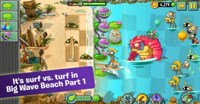 plants vs zombies iphone ipad