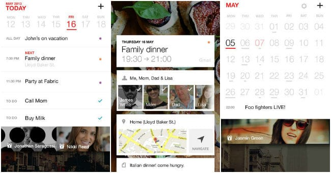 best free calendar apps for iPhone and iPad