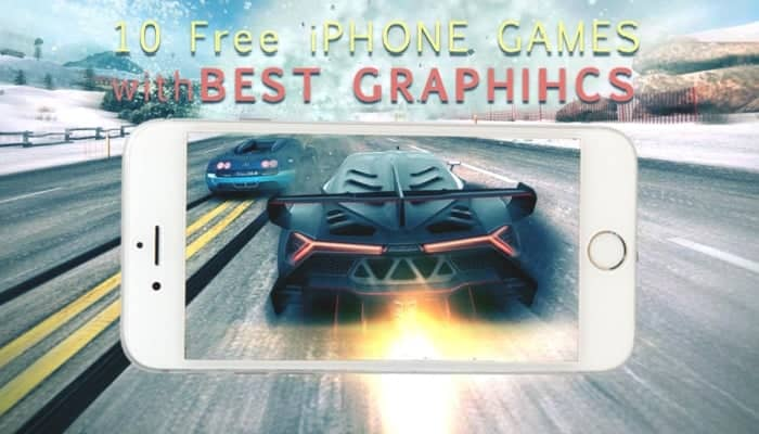 best iphone graphics games