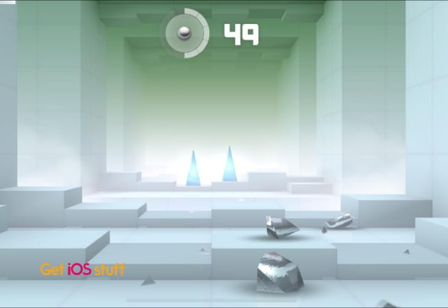 Smash Hit is physics-based shooter game