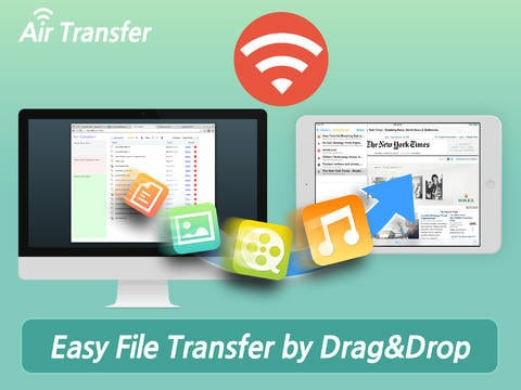 transfer files between iphone and pc wirelessly