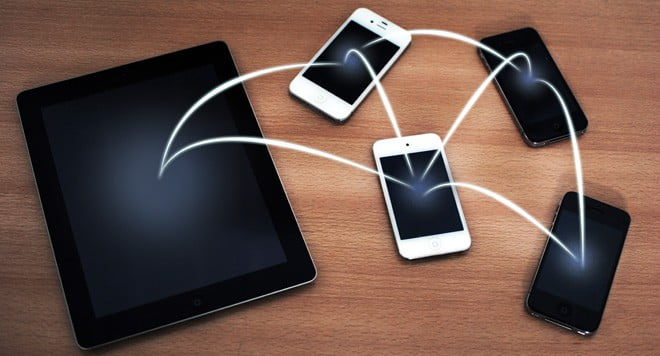 Apps to transfer files between iPhones or iPads wirelessly