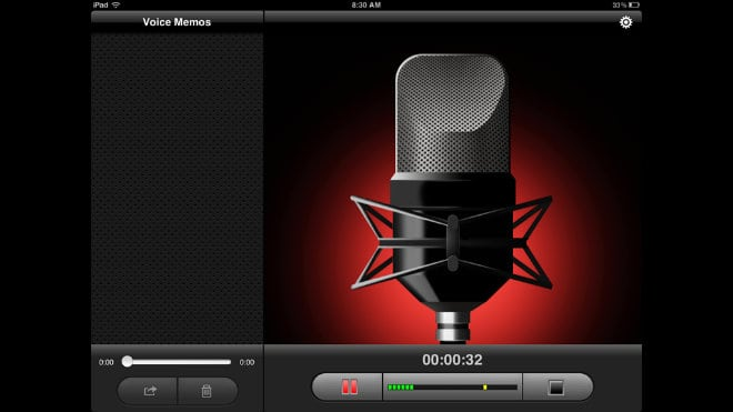how to make a voice recording on iphone