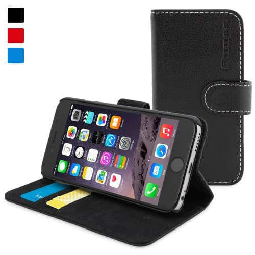 Leather Wallet Case for iphone 6