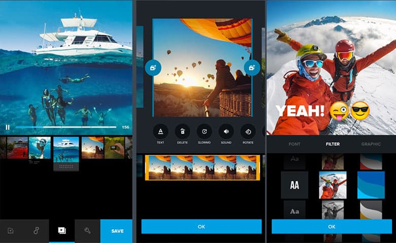 Go pro video editor app for iphone