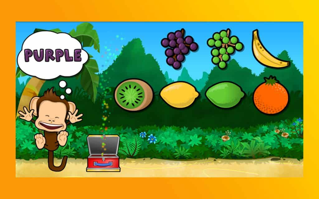 Preschool Lunchbox app iPad