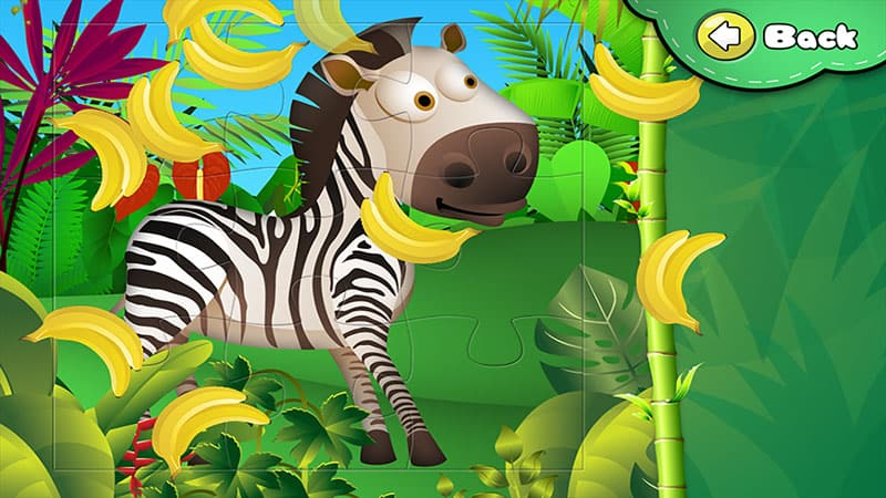 Animal Puzzle for kids iphone