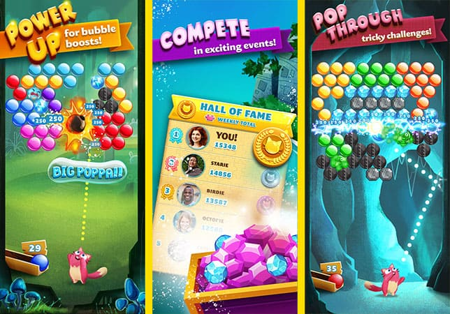 Buuble shooting for iOS