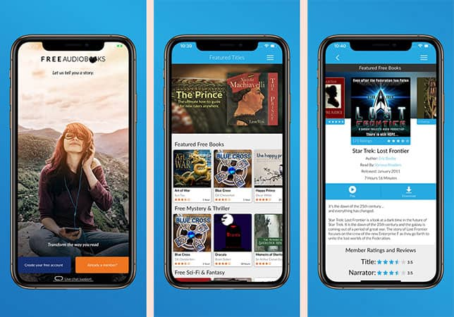 Free Audiobooks for iPhone