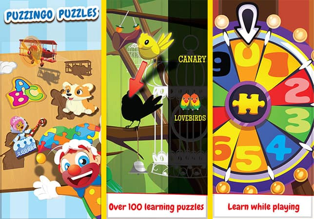 Kids Puzzle game for iphone