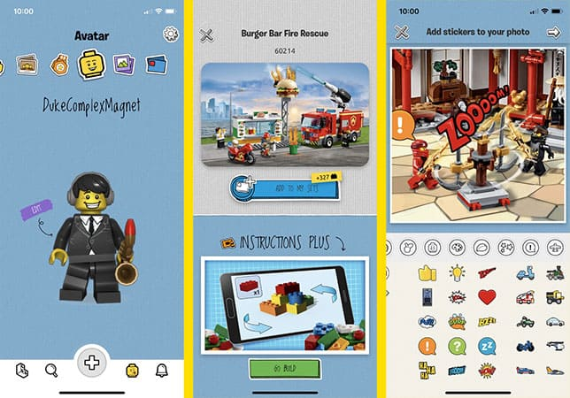Lego Life Kids social network game