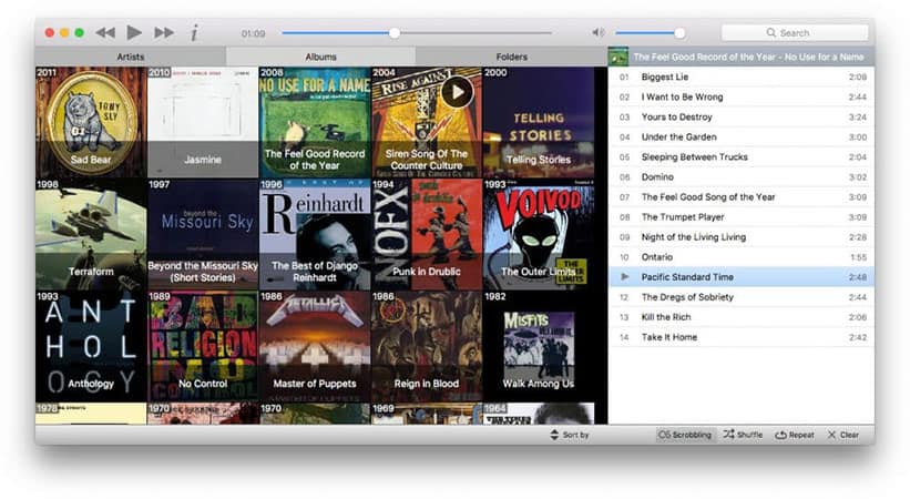 Musique free itunes alternative
