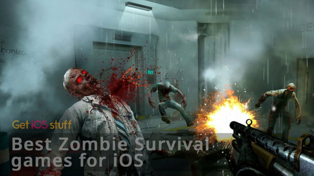 zombie survival games for iphone ipad