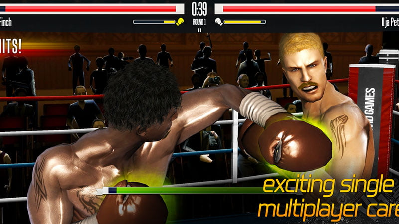 Real Boxing game iphone
