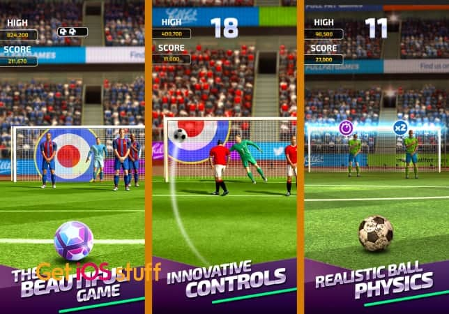 Flick Soccer 20 iphone game