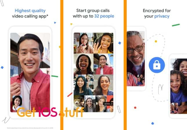 Google Duo video chat app
