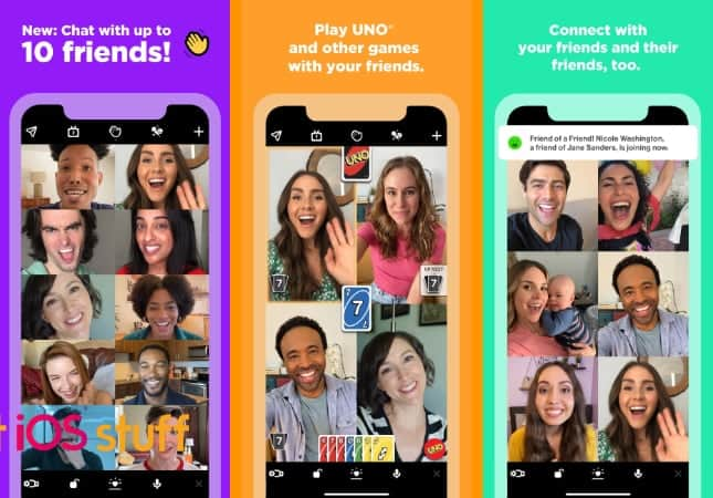 Houseparty video chat app for iphone ipad