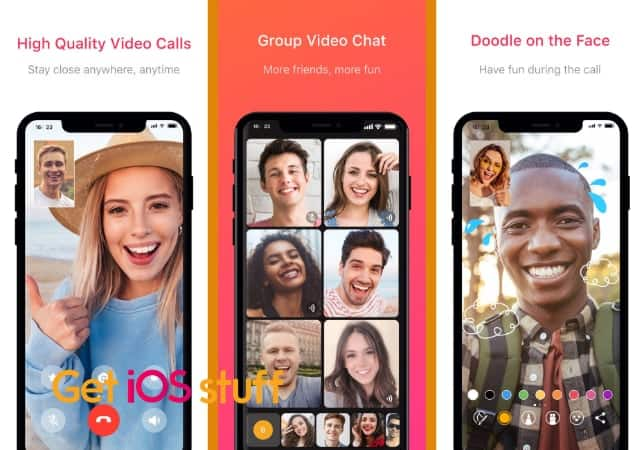 JusTalk Video Chat & Messenger app for iphone