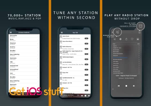 Radio Tuner - Live FM Stations form iPhone or iPad