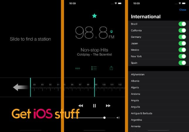 RadioApp - A Simple Radio for iPhone