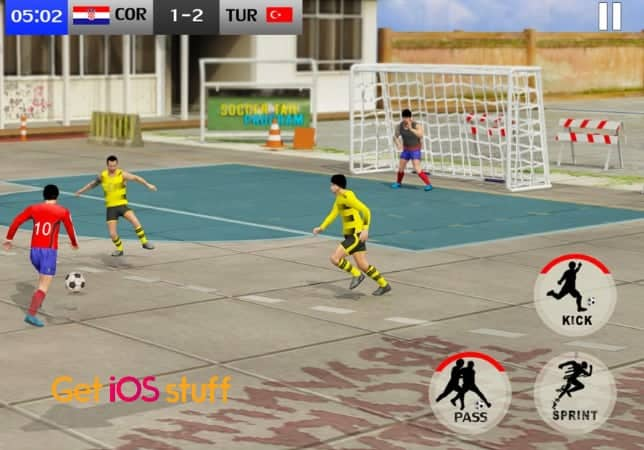 Street Soccer Cup iphone game