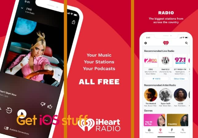 iHeart- Radio, Music, Podcasts app for iPhone