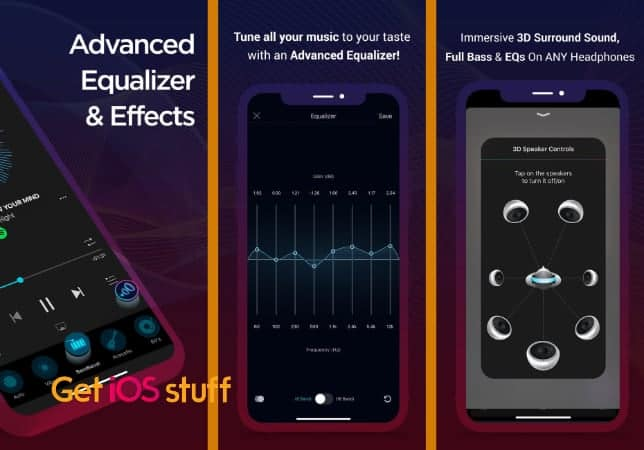 Boom- Bass Booster & Equalizer app for iphone