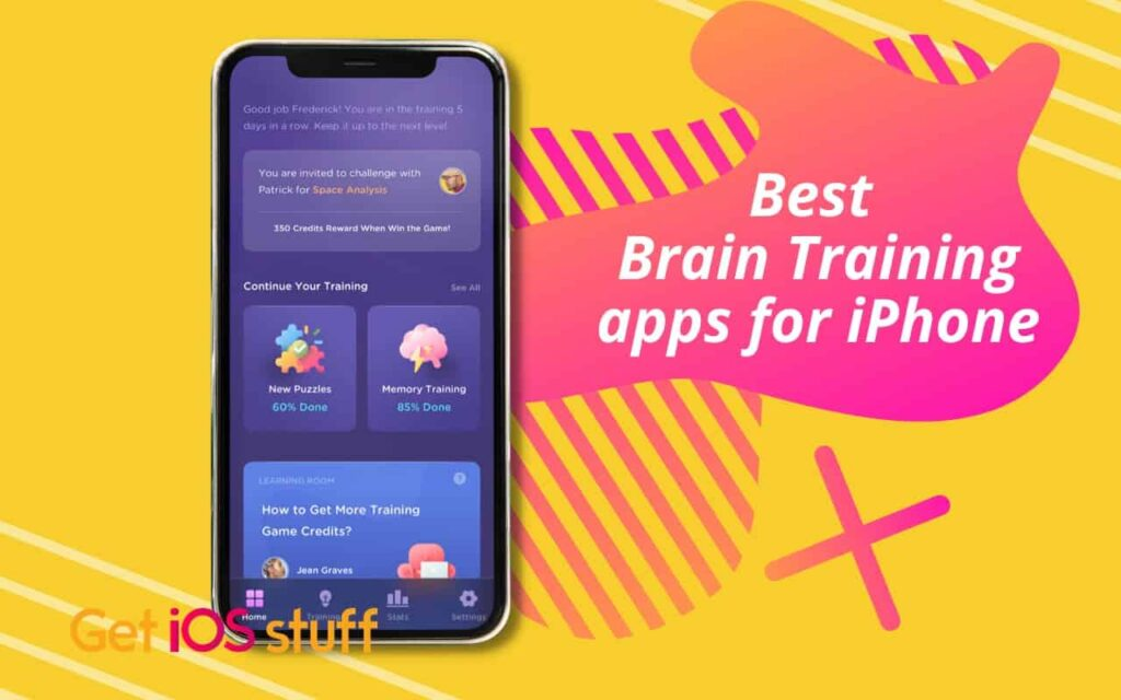 Free iPhone apps for brain training