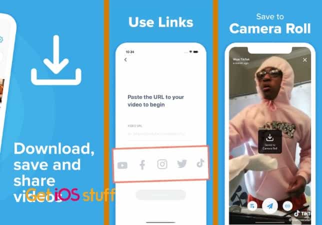 Clipbox- Save & Share Videos on iphone or ipad