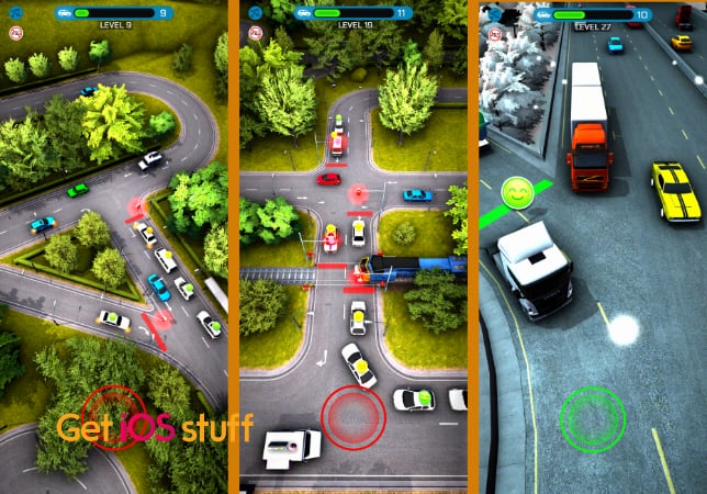 Crazy Traffic Control iOS game