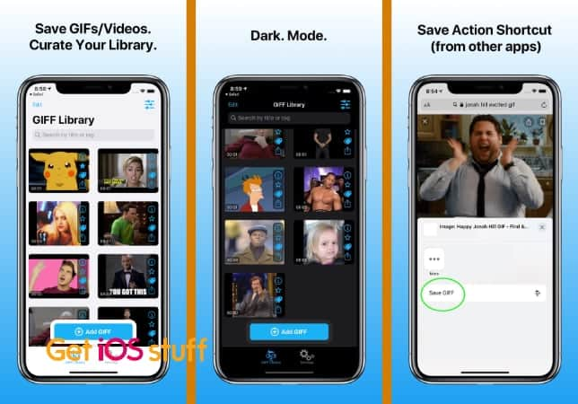 Download GIF/Videos on mobile