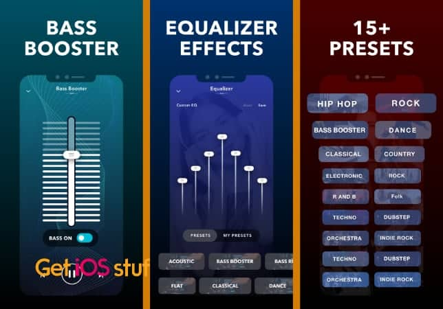 Equalizer Fx- Bass Booster App for iPhone