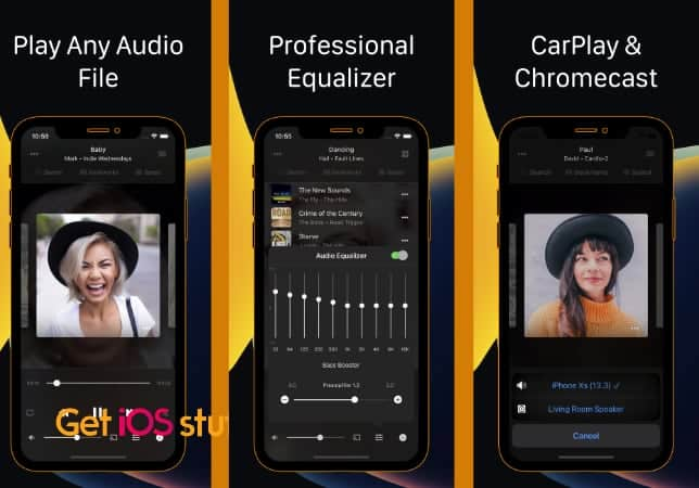 Flacbox- FLAC Player Equalizer iphone app